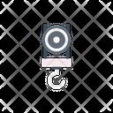 Hook Crane Shipping Icon