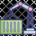Crane Lifter Lifting Crane Crane Drum Lifter Icon