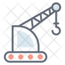 Tower Crane Heavy Machinery Crane Machine Icon