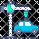 Tower Crane Crane Machine Construction Crane Icon