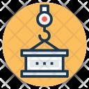 Crane Machine Icon