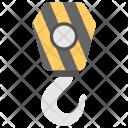Crane Pulley Icon