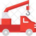 Crane Truck Tow Truck Emergency Icon