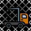 Crane Truck Mobile Crane Truck Icon