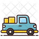 Crane Truck Vehicle Transport Icon