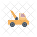 Crane Construction Truck Icon