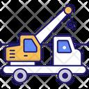 Crane Truck Tow Truck Crane Icon