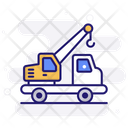 Crane Truck Caterpillar Crane Icon