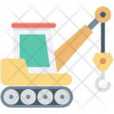 Crane Vehicle Lifter Icon