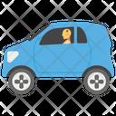Crash Test Dummy Car Dummy Road Safety Icon