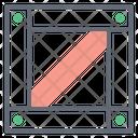 Crate Cardboard Carton Icon