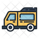 Van Travel Camping Icon