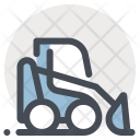 Crawler Machine Construction Icon