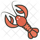 Crayfish Crawfish Crawdads Icon
