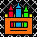 Crayon Color Drawing Icon