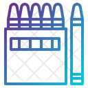 Color Colour Crayon Icon