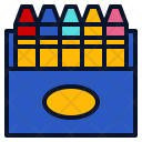 Crayon Paint Draw Icon