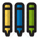 Crayon Pencil Drawing Icon