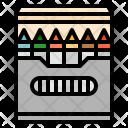 Crayon Stationery Color Icon