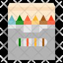 Crayon Color Stationery Icon
