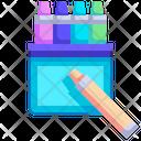 Crayon Crayon Wax Color Icon