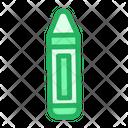 Colored Crayon Crayons Icon