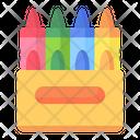 Crayon Crayons Crayon Box Icon