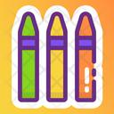 Crayon Colors Icon