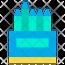 Crayons Box Drawing Draw Icon