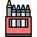 Crayons Color Pencil Color Pen Icon