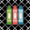 Crayons Color Icon