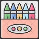 Crayons Colorpencil Color Color Pen Color Icon