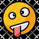 Crazy Emoji Face Icon