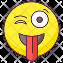 Crazy Emoji Icon