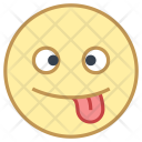 Crazy Emoji Face Icon