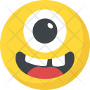 Crazy Laughing Cyclops Icon