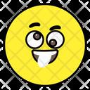 Crazy Face Emoticon Smiley Icon