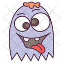 Crazy Monster Creature Monster Face Icon