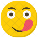 Crazy Smiley Icon