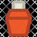 Cream Bottle Hair Icon