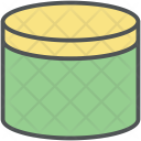Cream Jar Container Icon