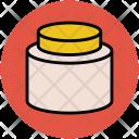 Cream Jar Beauty Icon