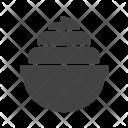 Whip Cream Piece Icon