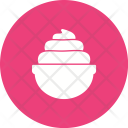 Whip Cream Sweet Icon