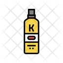 Cream Keratin Package Icon