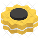 Cream Biscuit Icon