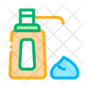 Cream Bottle Care Icon