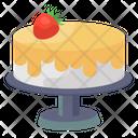 Cheese Cake Cream Cake Dessert Icon