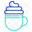 Icream Coffee Cream Coffee Cappuccino Coffee Icon