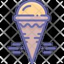 Cream Cone Cream Cone Icon